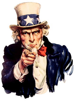 Uncle Sam Wants you to Present